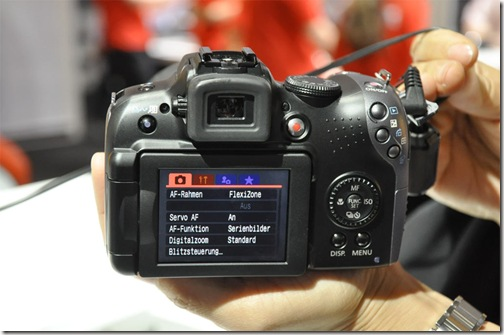 Canon Powershot SX10 IS Back